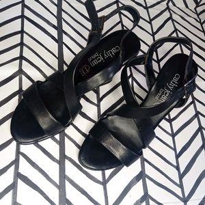 Cathy Jean Wedges Platform Sandals Strappy